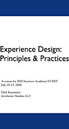 Experience Design Principles & Practices