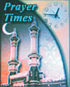 Prayer times application