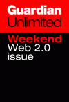 Guardian Weekend Web 2.0 issue