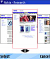 Mobile web browsing