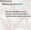 Nokia Experience Beta