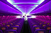 Virgin's purple plane