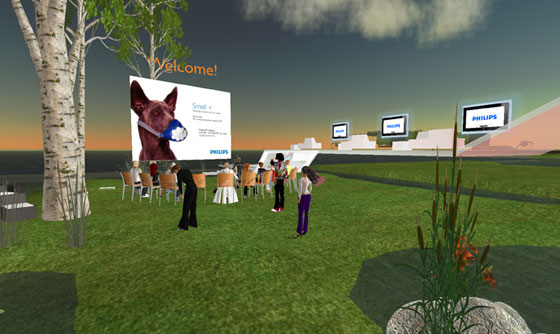 Philips in Second Life