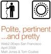 Polite, pertinent and... pretty
