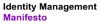Identity management manifesto