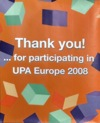 UPA Europe thank you