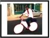 Bicycle rider data shadows