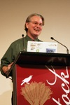 Bruce Sterling at Webstock