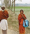 Group Danone salespeople in Bangladesh
