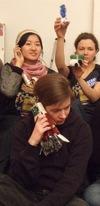 Woman's phone