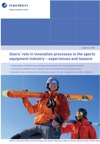 Users' role in innovation processes in the sports equipment industry