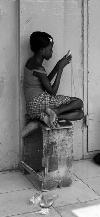 Ghana girl calling