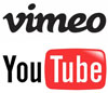 Vimeo and YouTube