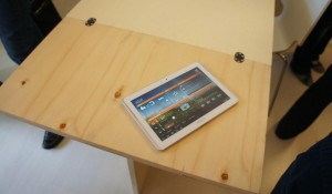 The dashboard will be accessible from a tablet computer, for the people inside the house, and remotely, for monitoring purposes.