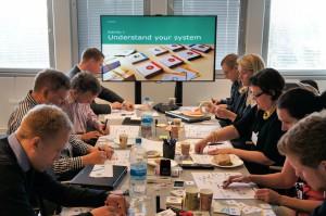 Helsinki, Finland. Business models workshop with Östersundom stakeholders.