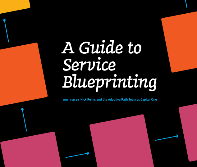 Free guide to service blueprinting by adaptive pathcapital one design malvernweather Gallery