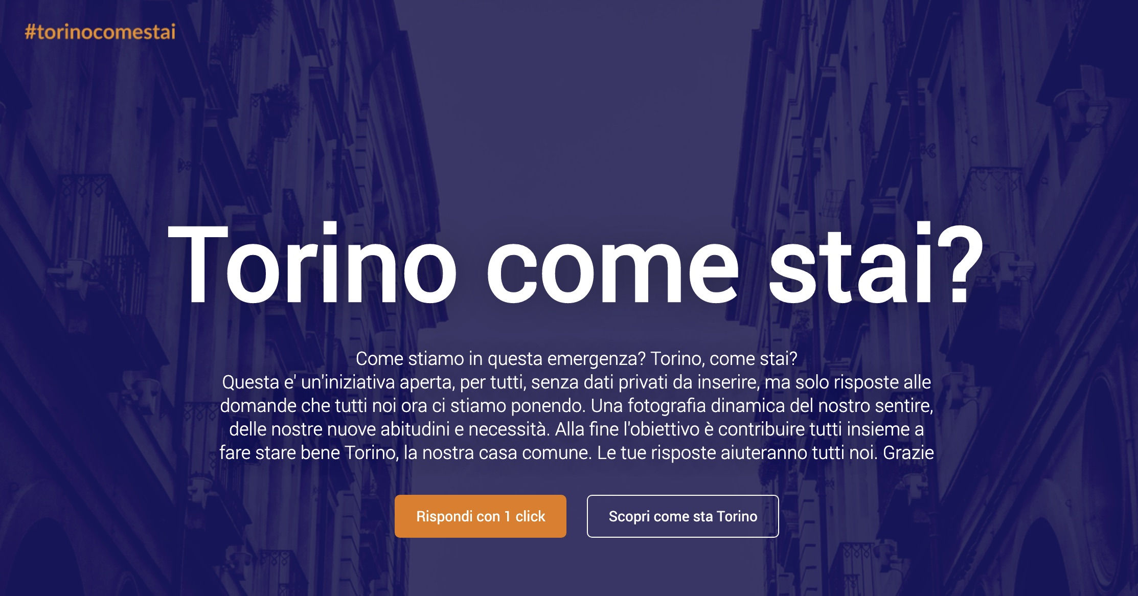 Torino come stai?