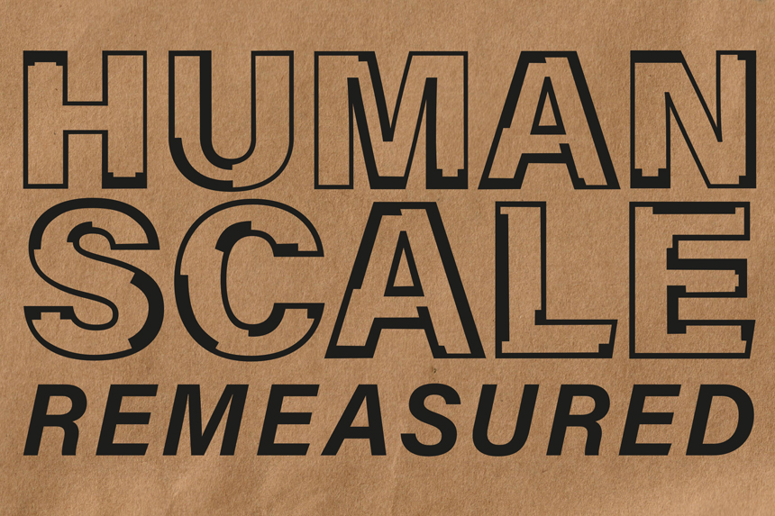 Human Scale Remeasured