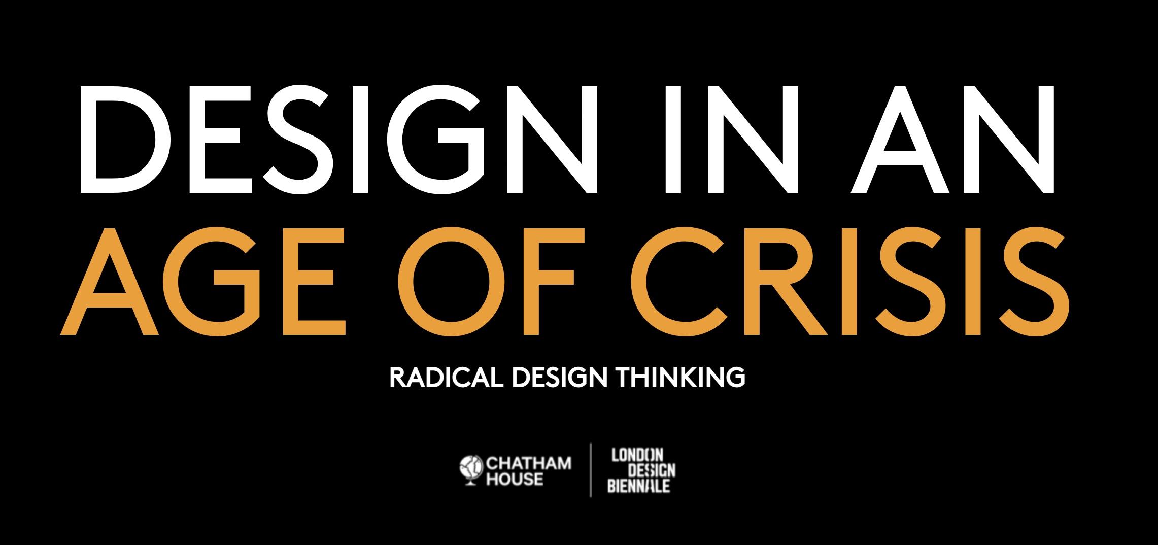 Diseño en una era de crisis