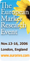 European Market Research Event